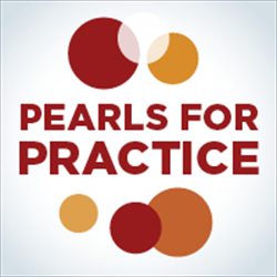 Pearls for Practice: Professional Development