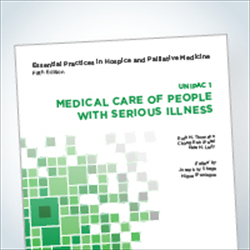 Essentials 1 book: Medical Care of Patients with Serious Illness