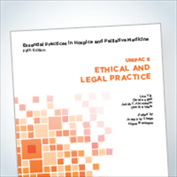 Essentials 6 book:  Ethical and Legal Practice