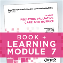 Essentials 7 book with Learning Module: Pediatric Palliative Care and Hospice