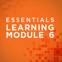 Learning Module for Essentials 6: Ethical and Legal Practice