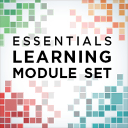 Essentials Learning Module Set (includes modules 1-9)