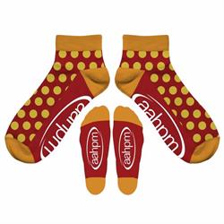AAHPM Polka Dot Socks